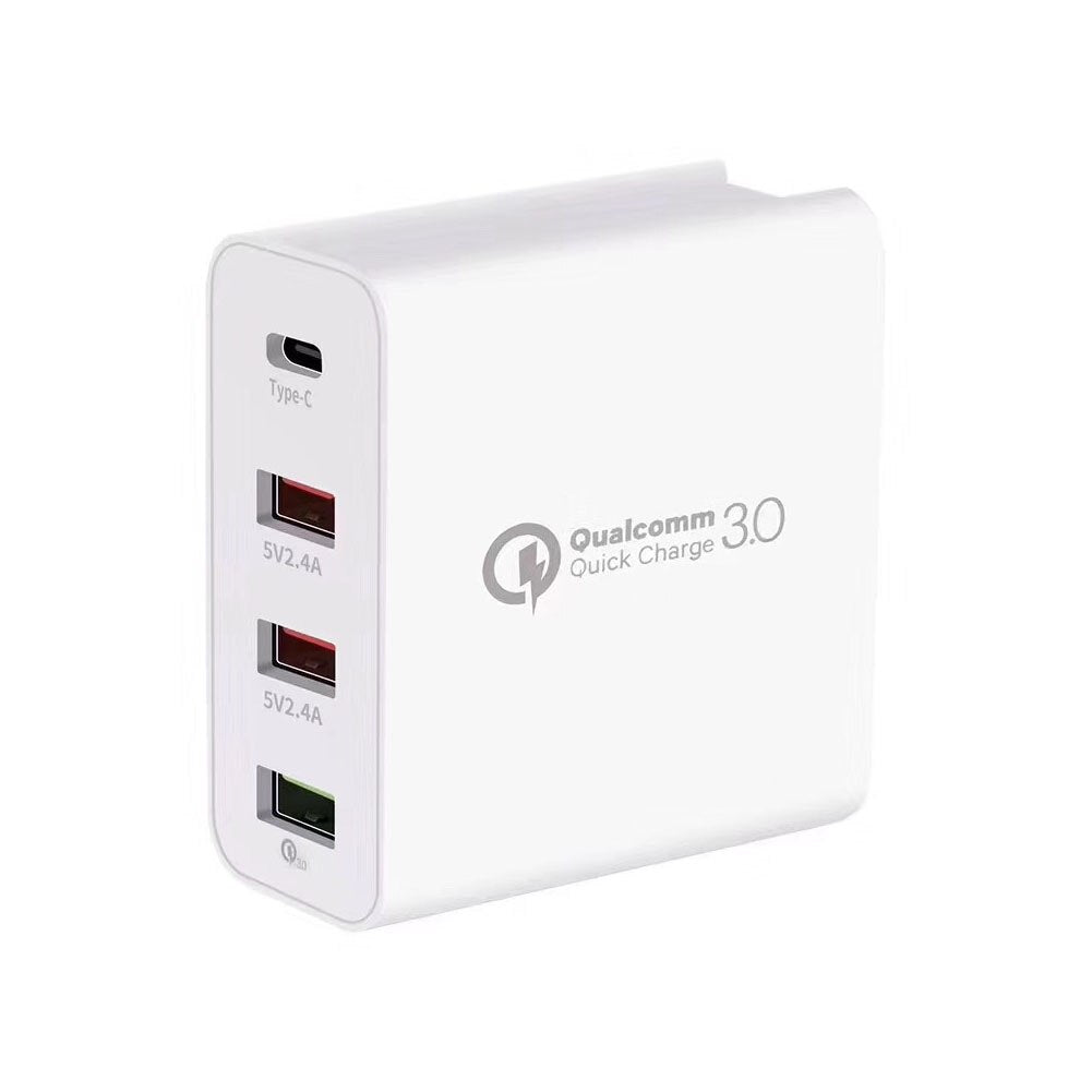 40W PD TypeC USB 4 Ports Universal Quick Charger