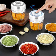 Load image into Gallery viewer, 100/250ML  Mini USB Wireless Electric Multiuse Garlic Masher/ Press/ Mincer
