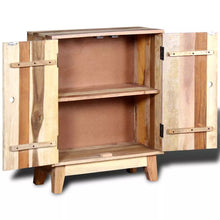 "Load image into Gallery viewer, Antique-Style Wooden Sideboard Solid Reclaimed Wood Storage Cupboard 23.6"" x 11.8"" x 30"""