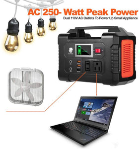 200W/40800mAh  Portable Power Station