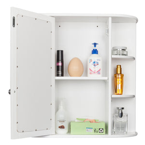 "23.6X6.5X22.8"" Bathroom Medicine Cabinet  w/ Mirror"