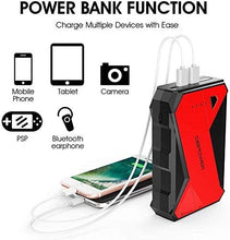 Load image into Gallery viewer, DBpower DJS80 1000A Portable Car Jump Starter
