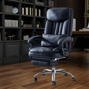 High Quality Black Leather Office Chair
