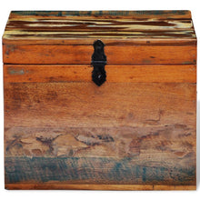 "Load image into Gallery viewer, Reclaimed Solid Wood Storage Box 15"" X 11"" X 12"""