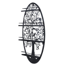 Load image into Gallery viewer, Essential Oils Nail Polish Organizer Display Holder w/ Tree Silhouette - OUT OF STOCK