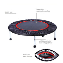 "Load image into Gallery viewer, 40/48"" Aerobic Bouncer Workout Trampoline"