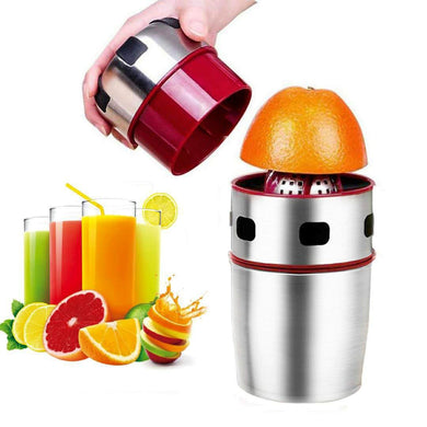 Portable Manual Stainless Steel Citrus Hand Press Juicer