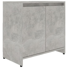 "Load image into Gallery viewer, Chipboard Bathroom Cabinet Concrete 23.6""x13""x22.8""(Gray)"
