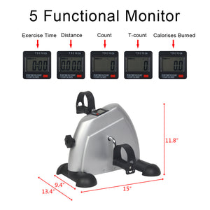 Exercise Bike Pedal Exerciser w/ Digital Monitor -- OUT OF STOCK
