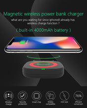 Load image into Gallery viewer, CYBORIS 4500mAh USB Wireless Power Bank Charger(Delivered In 3 Weeks)