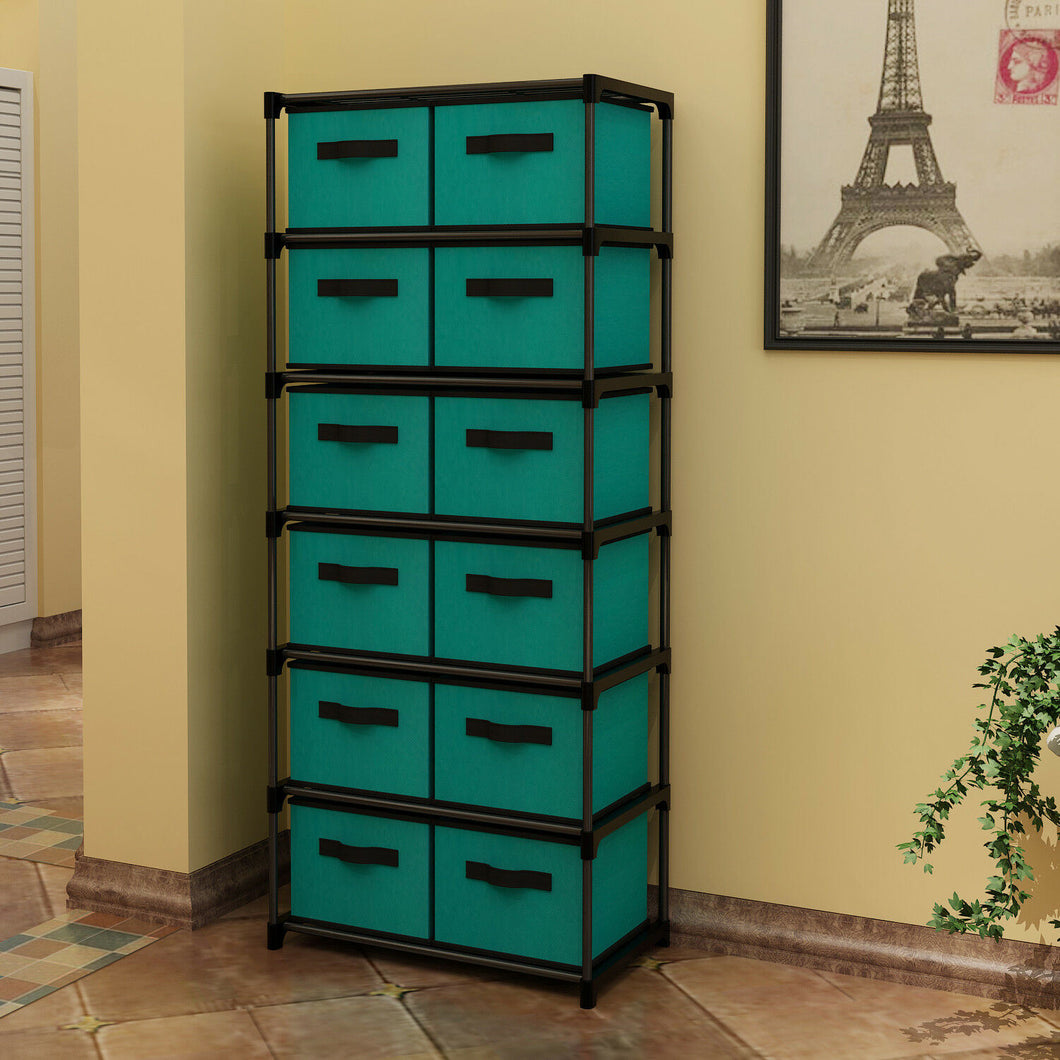12 Drawers Storage