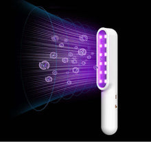 Load image into Gallery viewer, UV LED Light Sanitizer Wand W/ USB Charging Cable