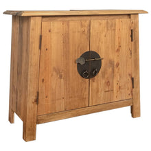 Load image into Gallery viewer, Recycled Pinewood Bathroom Vanity Cabinet