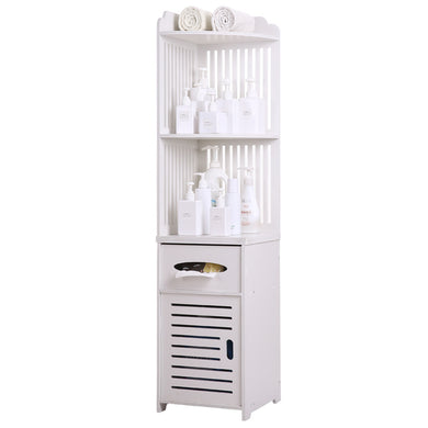 Multiuse Toilet Bathroom Corner Cabinet Storage Shelf Organize -- OUT OF STOCK