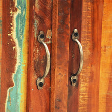 Load image into Gallery viewer, Reclaimed Cabinet Solid Wood with 2 Doors Vintage