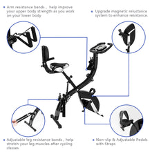 Load image into Gallery viewer, Premium 3-In-1 Foldable Indoor Recumbent Cycling Bike