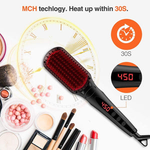 MiroPure Hair Straightener Brush