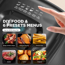 Load image into Gallery viewer, KOIOS Max XXL 7.8-Qt Dehydrator/Fryer/1800-Watt 4*6 Presets For Air Frying.
