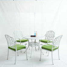 Load image into Gallery viewer, 5PCS Set Elizabeth Cast Aluminum Garden Furniture  With Cushions