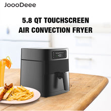 Load image into Gallery viewer, JoooDeee 5.8-Quarts Digital Touch Screen Air Fryer Oven