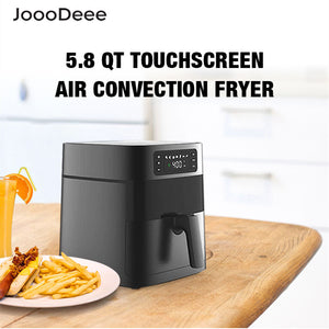 JoooDeee 5.8-Quarts Digital Touch Screen Air Fryer Oven