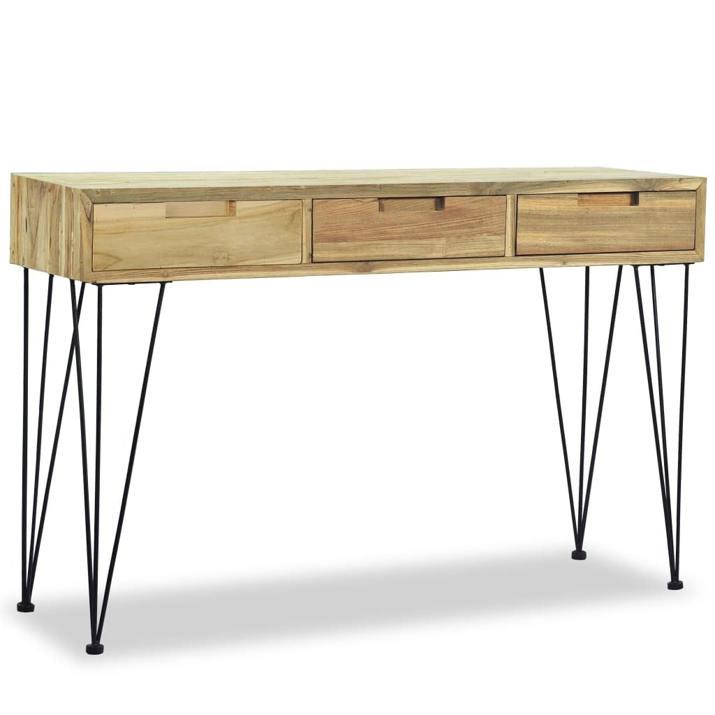 Solid Teak Console Table 47.2
