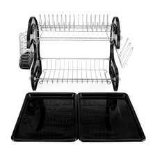 Load image into Gallery viewer, Multifunctional Dual Layers Dish Rack Dryer