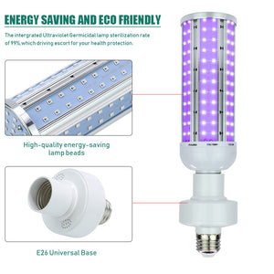 LED UVC E27 60W UV Germicidal Lamp