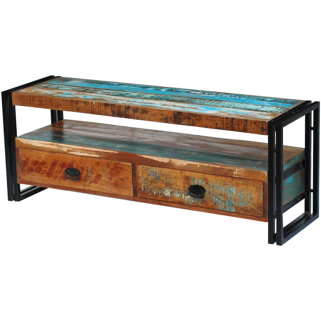 TV Cabinet Solid Reclaimed Wood