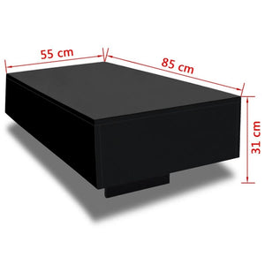 Glossy, Modern & Elegant High-Quality Coffee Table