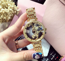 Load image into Gallery viewer, Rotatable Leopard Fortunes Women Fashion Luxury Watch