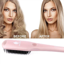Load image into Gallery viewer, MiroPure 2-in-1 Ceramic Ionic Straightening Brush