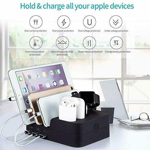 6 Port USB  Multi Device Charging Station