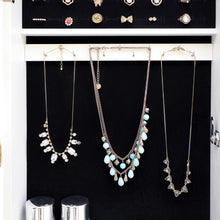 Load image into Gallery viewer, Fashionable Multi-Function Lockable Jewelry Armoire c/ Full Length Mirror