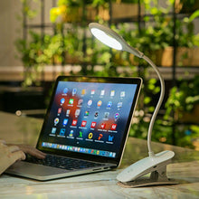 Load image into Gallery viewer, USB Clamp Clip On LED Reading Light