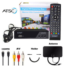Load image into Gallery viewer, ATSC TURNER OTA Decoder Analog Digital Converter w/ Recording Receiver