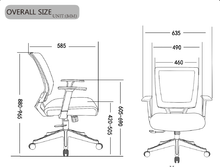 Load image into Gallery viewer, Qwork Ergonomic Mesh Task Chair