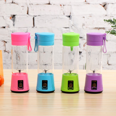 Portable  Fruit Blender With 2000mAh USB Rechargeable Battery