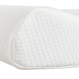 "19.7x11.8x3/4"" Memory Cotton High And Low Profile Pillow"