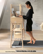 Load image into Gallery viewer, UMAY Under Desk Treadmill w/  Foldable Frames(White)