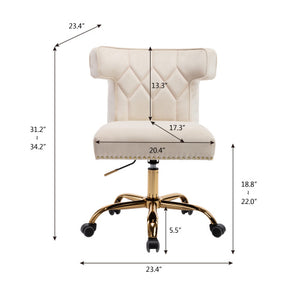 Swivel Wingback Modern Leisure Office Chair