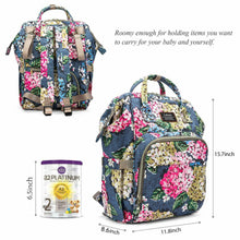 Load image into Gallery viewer, Multi-Function Large Size Mummy Baby Diaper Bag