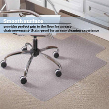 Load image into Gallery viewer, Home/ Office Chair Mat for Carpet Protection (47.24 X 35.43 X 0.08)""
