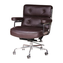 Load image into Gallery viewer, LOBBY Swivel Genuine Leather Office Chair