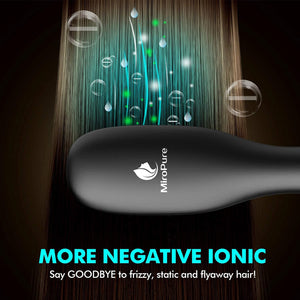 MiroPure Hair Straightener Brush with Ionic Generator