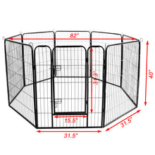 Load image into Gallery viewer, High Quality Large Indoor Metal Pet Play Pen