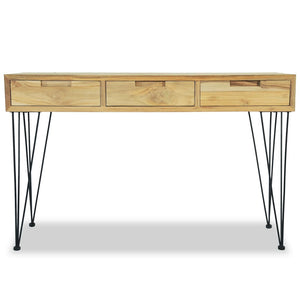 "Solid Teak Console Table 47.2""x13.8""x29.9"""