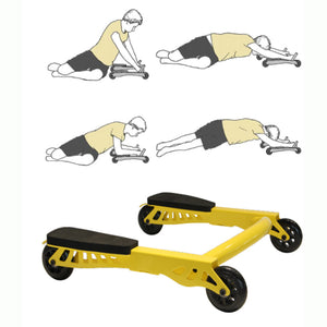 Abdominal Muscle Wheel Exercise Weight Loss Training Equipment