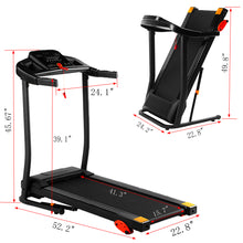 Load image into Gallery viewer, USB LED 15- Preset- Program Folding Treadmill W/ MP3