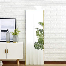 "Load image into Gallery viewer, 59""X15.7"" MIRO 1500 400-B Full Length Mirror w/ Aluminum Alloy Frame"